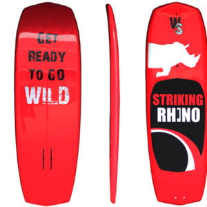"SUP/ SURFBOARD STRIKING RHINO 7'11"" Foil Fiberglass"