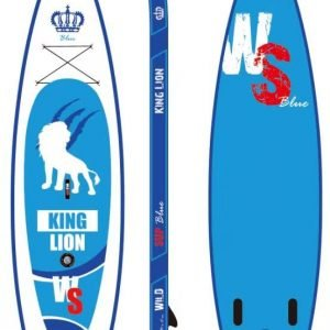 Wild SUP board KING LION 11'5 Double Chamber Blue Edition
