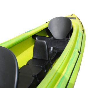 Child seat with back support for FREELAND kayak