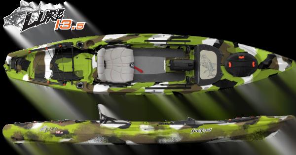 Fishing kayak LURE 13.5