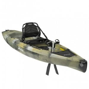 Pedāļu kajaks Hobie Mirage Compass Camo Kick-Up Fins