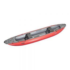 Piepūšamās kanoe laivas