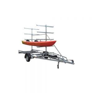 Kajaku un kanoe laivu traileris-piekabe MASTER-TECH MULTI BOAT-10