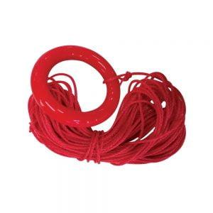 Pietauvošanās riņķis ar 30m garu virvi