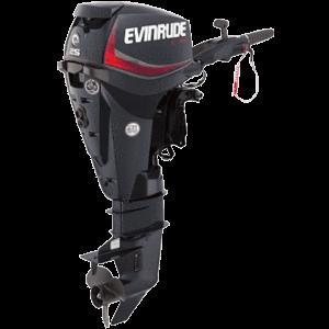 Laivas motors Evinrude 25