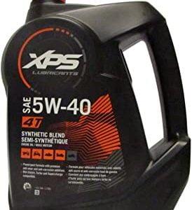 Motoreļļa BRP XPS 4T 5W-40 SYNTHETIC BLEND OIL Gallon