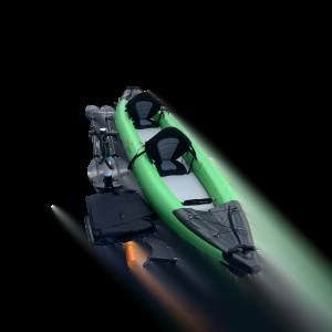 Piepūšams divvietīgs kajaks DS-390 HYBRID